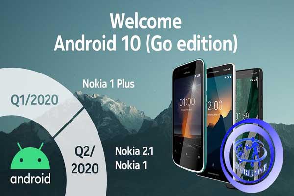 گوشیهای نوکیا با نسخه Go اندروید 10