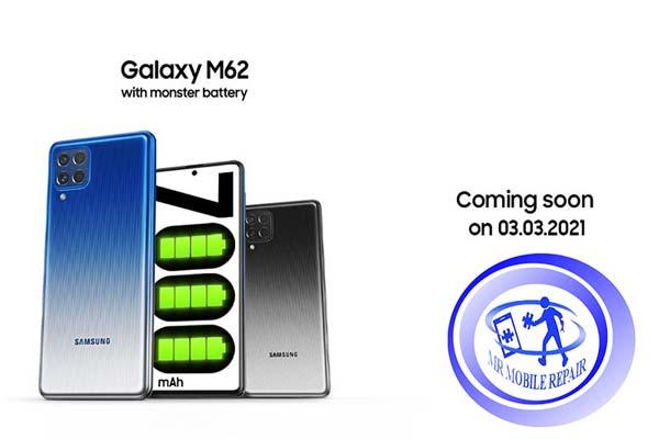 گوشی هوشمند Galaxy M62 سامسونگ
