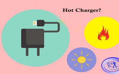 چرا شارژر گوشی هنگام شارژ کردن داغ میکند؟